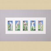 Cricketers 1930 - Original